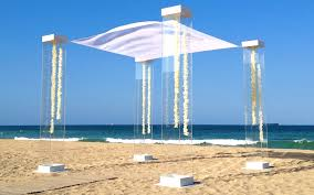 wedding chuppah rental modern chuppah rental miami acrylic wedding canopy marriott harbor