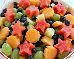 fruit fresh 5 ingredient fresh fruit salad grounded surrounded