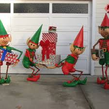 Nutcracker Christmas Yard Decorations by Santa U0027s Elves Yard Display Christmas Yard Decorations Christmas