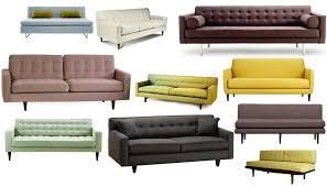 Midcentury Leather Sofa Amazing Mid Century Leather Sofa Designs