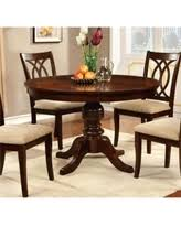 Round Pedestal Dining Tables Don U0027t Miss This Bargain Furniture Of America Vessice Round