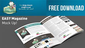 free download psd magazine mock up by designersbestfriend on