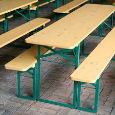 german beer garden table and bench german beer garden tables apartment therapy