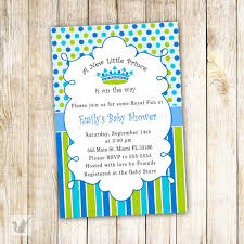 a new prince baby shower new prince baby shower invitation card blue polka
