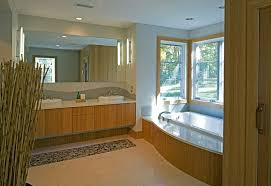 baltimore eco friendly cabinets bathroom modern with tub deck oak
