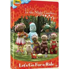 night garden u0027s ride dvd english
