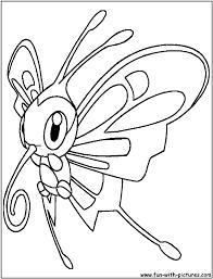 beautifly coloring page pokemonia pinterest pokemon coloring