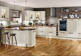 Contemporary Kitchen Tewkesbury Framed Antique White Contemporary Kitchen From