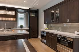 kitchen modern glam home glenview haus custom doors and wine