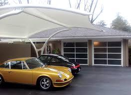 Modern Overhead Door by Garage Doors Before U0026 After Atlanta Home Improvement