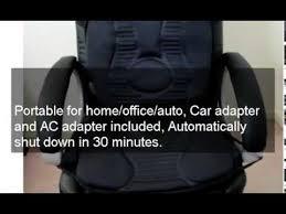new portable 10 motor massage seat cushion auto office heat back