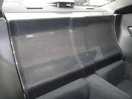 nissan 350z back seat rear seat delete wet carbon for brz frs gt86 platforms