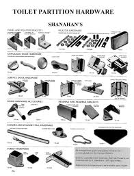 shanahan u0027s toilet partition hardware from wielhouwer replacement