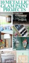 get inspired 10 metallic paint projects how to nest for less