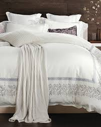 silver embroidery lace white bedding set king queen size egypt cotton luxury royal bed set 4pcs duvet cover bedsheet pillowcases in bedding sets from home