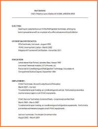 Resume Technician Maintenance Hvac Resume Examples Resume Example And Free Resume Maker