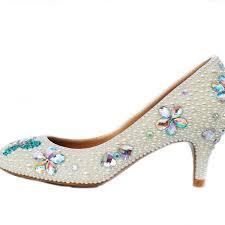 wedding shoes wide width wedding shoes ideas rhinestones back sling open toes low heel