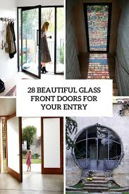 front door leaded glass 28 beautiful glass front doors for your entry shelterness