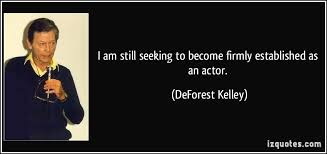 Seeking Actor I Am Still Seeking To Become Firmly Established As An Actor