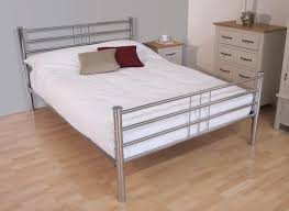 roma chrome bed frame dreams