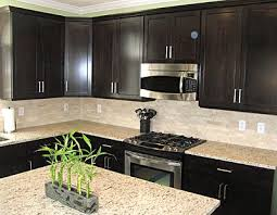 kitchen cabinets with backsplash best 25 espresso cabinets ideas on espresso cabinet