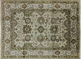 9 x 12 oriental oushak herati design rug h8389
