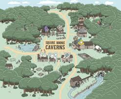 Boone Map Grist Mill Squire Boone Caverns America U0027s Most Spectacular