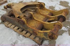 hydraulic excavator thumb attachment item i9822 sold ap