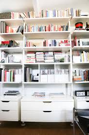 ikea hack office ikea bookshelves hack hither thither