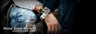 rock star rings images 76 6g heavy solid silver 925 thick link chain bracelet men simple jpg