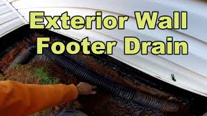 Foundation Sealer Lowes by Do It Yourself Foundation Waterproofing Exterior Wall Youtube