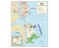 Zhuhai China Map by Maps Of Macau Detailed Map Of Macau In English Tourist Map