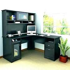 Cheap Computer Desks With Hutch Black Computer Desk With Hutch Home