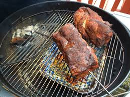 bbq pulled pork on a kettle grill grilling basics dadcooksdinner