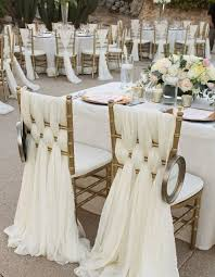 white wedding chairs 60 simple all white wedding color ideas page 9 hi