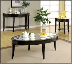 coffee table awesome small oval glass furniture wooden with shelf
