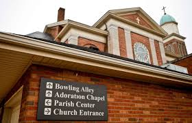 churches and their hidden basement bowling alleys messy nessy
