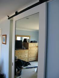 Closet Door With Mirror Sliding Door Mirror Closet Three Panel Sliding Closet Door Sliding