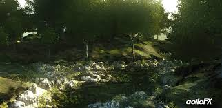 forest render asilefx cinema 4d training mograph 2 natural environments
