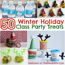 Halloween Crafts For Classroom Party by 50 Winter Holiday Class Party Treats