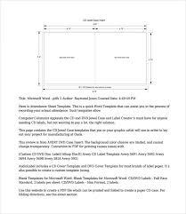 cd case template u2013 15 free word pdf psd eps indesign