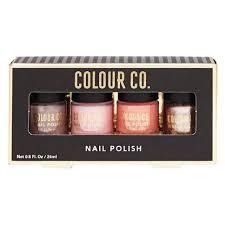 neutral colours colour co nail polish neutral colours 4 pack the warehouse