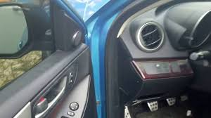 lexus recall for dashboard 2010 mazdaspeed 3 sticky dashboard recall youtube