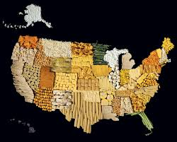 Picture Of A Map Of The United States Of America by In These Colorful U0027food Maps U0027 Nations Are What They Eat