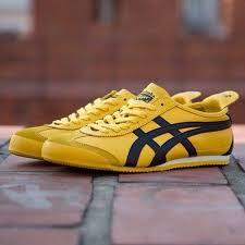 asics onitsuka tiger mexico 66 yellow white