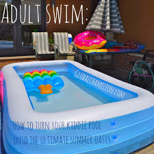 Inflatable Pool Target Swim How To Turn Your Kiddie Pool Into The Ultimate Summer