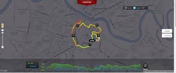 Map My Running Route by Xeon204 Blogspot Com Running Care For The Cause At The Pink