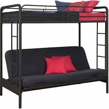 Twin Bunk Beds With Mattress Included Twin Over Futon Bunk Bed With Mattress Included Eva Furniture