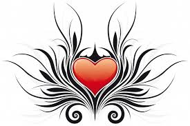 flower and heart tattoo free download clip art free clip art