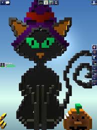 halloween pixel art pictures the blockheads